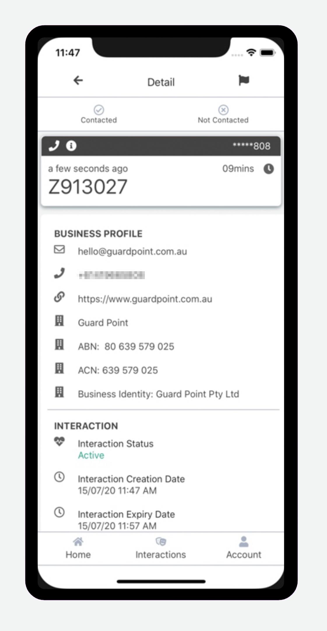 GuardPoint mobile app details